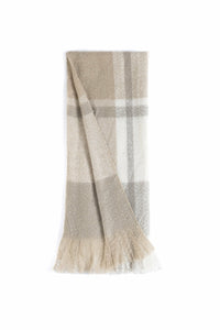 ALVA THROW, BEIGE