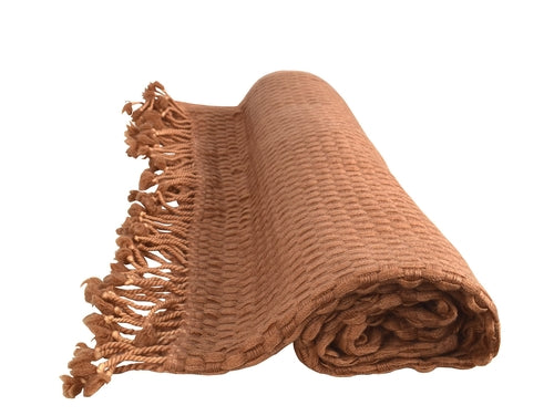 The Basketweave Cashmere (Multiple Colors)