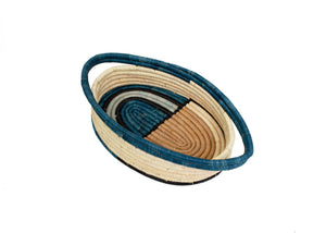 Camel Deco Oval Basket