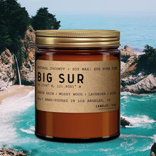 Load image into Gallery viewer, Big Sur: California Scented Candle (Rain, Mossy Wood, Lavender, Rose)