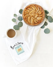 Load image into Gallery viewer, Bun in the Oven Cotton Canvas Kitchen Tea Towel