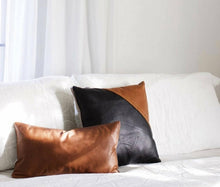 Load image into Gallery viewer, Leather Pillow Covers - Multiple Sizes/Colors