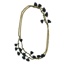 Load image into Gallery viewer, Krisha Tassel Necklace