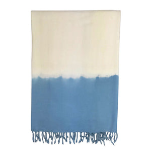 Ocean Dip Dye Turkish Beach Towel