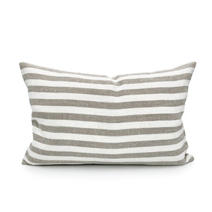 Valentina Linen Stripe Pillow Cover