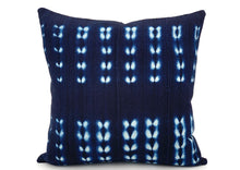 Load image into Gallery viewer, Mudcloth Indigo #2 Pillow Cover - 14x20