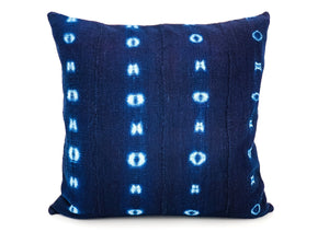 Mudcloth Indigo #1 Pillow Cover - 14x26