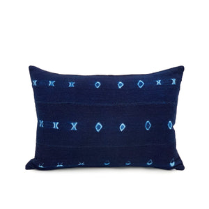 Copy of Copy of Mudcloth Indigo #1 Pillow Cover - 14x20