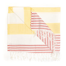 Load image into Gallery viewer, Damascus Peshtemal Pure Cotton Beach Towel