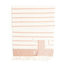 Load image into Gallery viewer, Istanbul Peshtemal Pure Cotton Beach Towel