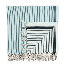 Load image into Gallery viewer, Gibraltar Peshtemal Pure Cotton Beach Towel