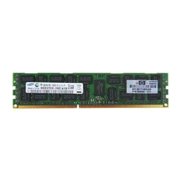 HP 4GB (1*4GB) Dual Rank *8 PC3L-10600E (DDR3-1333MHz) Unbuffered