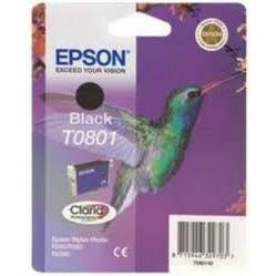 Epson T0801:  Black ink for PX660, PX725WD & P50