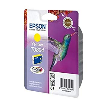 Epson 0804: Yellow ink for PX660, PX725WD & P50