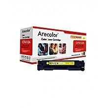 Arecolor Toner Cartridge AR-CF412A(410A)Y