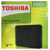 Toshiba External Hard Disks 500GB - Black