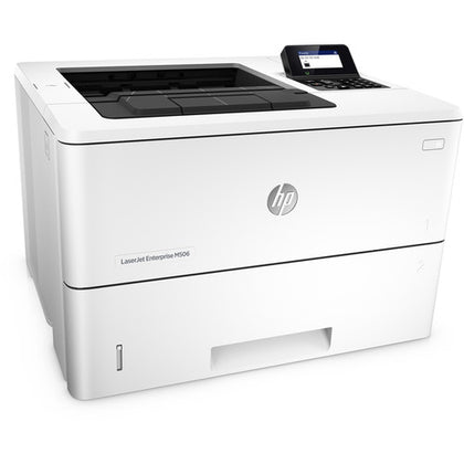 HP LaserJet Enterprise M506dn Monochrome Laser Printer - print only-duplex