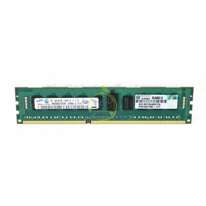 HP 4GB (1*4GB) 1333MHz PC3-10600 CL9 ECC REGISTERED SINGLE RANK DDR3 SDRAM