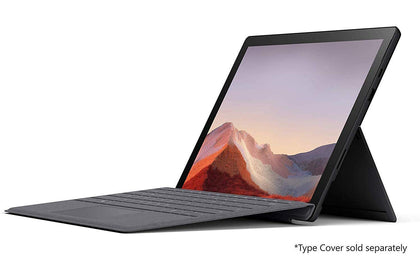 Microsoft Surface Pro 7 Intel Quad Core i5 10th Gen I5-1035G4, 8GB, 256GB SSD, 12.3-2736 x 1824, 2 Front Camera 5.0 MP, Bluetooth, Intel Iris Plus Graphics, Windows 10 Pro, Black