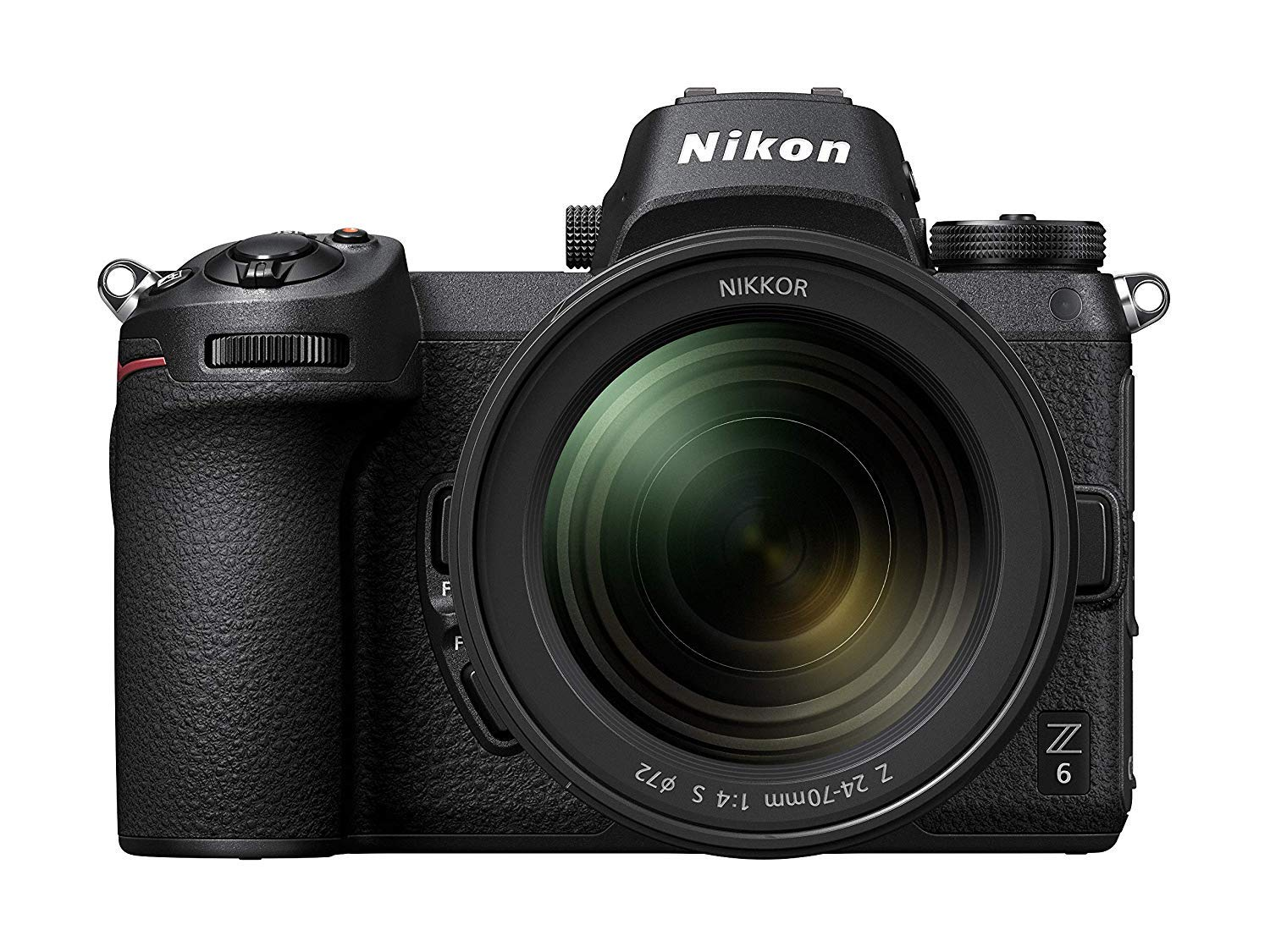 Nikon Z6 FX Format Mirrorless Camera with Nikkor Z 24-70mm f/4 S Lens (Black)