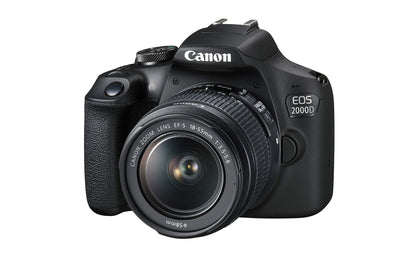 Canon EOS 2000D EF-S 18-55mm III Lens - Black