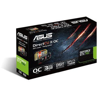ASUS GTX780 DIRECT CU II OC 3GB DDR5