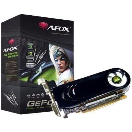 Afox 2GB GeForce GT610  (PCI-Ex, DDR3, 64bit, VGA/DVI/HDMI) Graphic Cards - AF610-2048D3L7-V4
