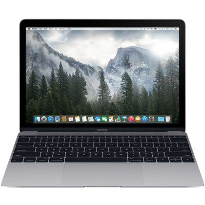 Apple MacBook Laptop - Intel Core M, 1.2 GHz Dual Core, 12 Inch, 512GB, 8GB, Space Gray, Early 2015, MJY42