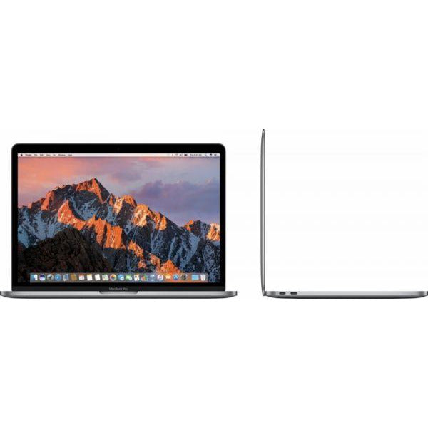 Apple MacBook Pro With Touch Bar and Touch ID MPTT2 Laptop - Intel Core i7, 2.9 Ghz Quad Core, 15-Inch, 512GB SSD, 16GB, 4GB VGA-Radeon Pro 560, English Keyboard, Mac OS Sierra, Space Gray - International Version