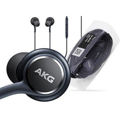Black AKG Samsung Earphones Headphones Headset Handsfree