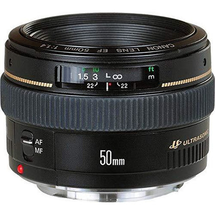 Canon 50mm 1.4 USM Lens Interchangeable Lens Camera