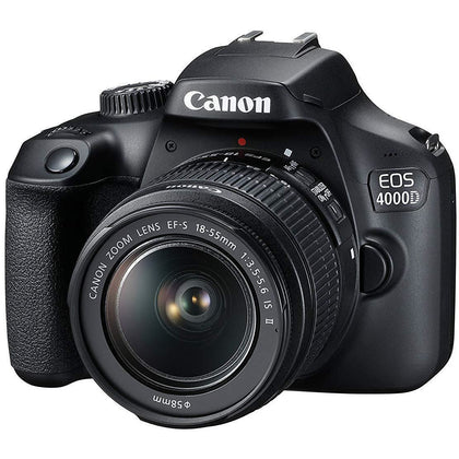 Canon EOS 4000D SLR Camera Kit with EF-S 18-55 mm III Lens