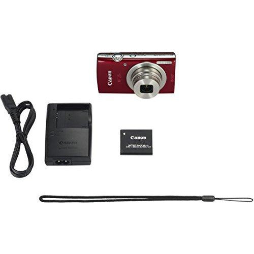 Canon IXUS 175 Compact Digital Camera - 20MP, 2.7 Inch, Red