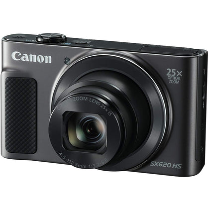 Canon Power Shot SX620 HS - 20.2 MP Digital Camera, Black