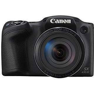 Canon PowerShot SX430 IS Digital Compact Camera - Black