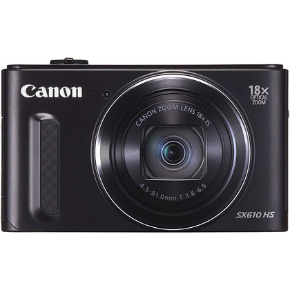 Canon PowerShot SX610-20.2 MP HS Digital Camera Black