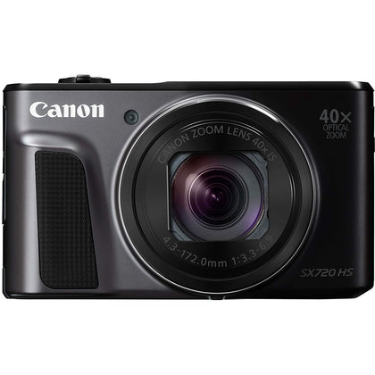 Canon PowerShot SX720 HS - 20 MP Compact Camera, Black