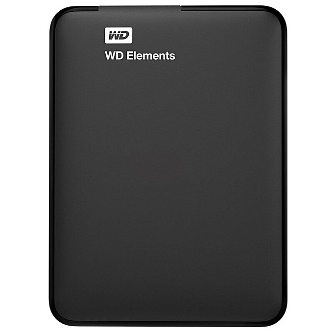 Western Digital Elements 2 TB Portable External Hard Drive (Black)