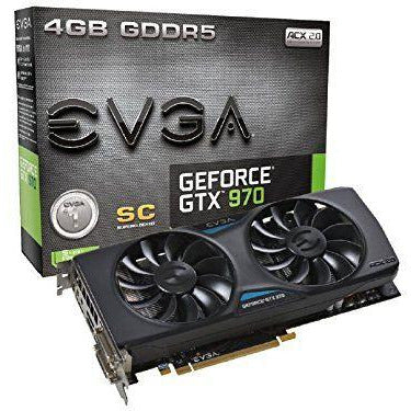 EVGA GeForce GTX 970 Super Clocked ACX 2.0 4GB GDDR5