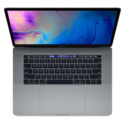 Latest Apple MacBook Pro MR942 with Touch Bar and Touch ID Laptop -8th Gen-Intel Core i7,2.6Ghz, 15.4-Inch, 512GB SSD,16GB, 4GB VGA-Radeon Pro 560x,Eng-KB, macOS, Space Gray, International Version