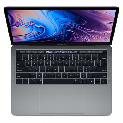 Latest Apple MacBook Pro MR9Q2 with Touch Bar and Touch ID Laptop -8th Gen-Intel Core i5,2.3Ghz, 13.3-Inch, 256GB SSD,8GB, Eng-KB, macOS, Space Gray, International Version
