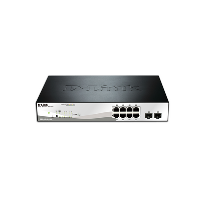 D-LINK DGS-1210-10P 8 PORT SWITCH