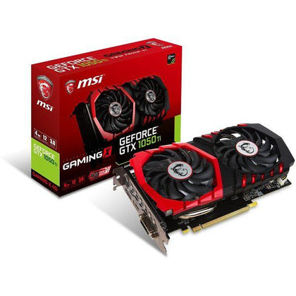 MSI GeForce GTX 1050 Ti GAMING X VGA Cards 4G