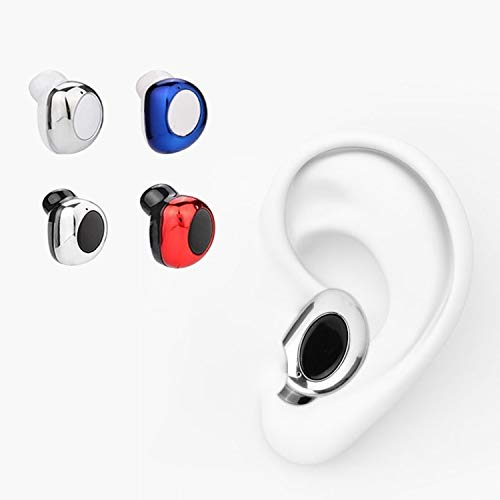 Mini Wireless Earphone In Ear Earpiece Invisible Headset Handsfree Magnet USB Charger Earbuds for Laptop PC Phone