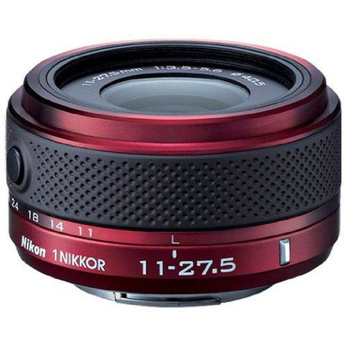 Nikon 1 Nikkor 11-27.5mm f/3.5-5.6 Lens for CX Format (Red) International Version (No warranty)