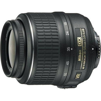 Nikon 18-55mm f/3.5-5.6G AF-S DX VR Nikkor Zoom Lens [International Version, No Warranty]