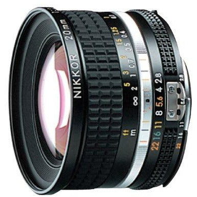 Nikon 20mm f/2.8 AIS Super Wide Angle Manual Focus NIKKOR Lens