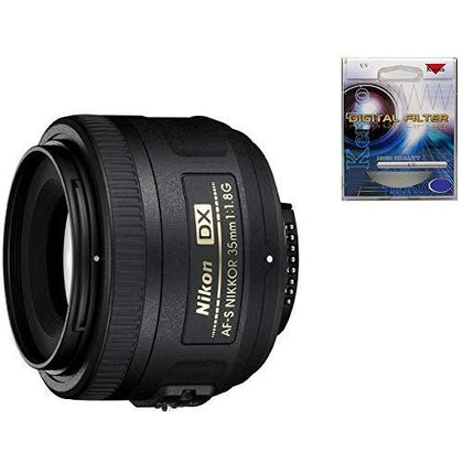 Nikon 35mm f/1.8G AF-S DX Nikkor Lens UV Filter