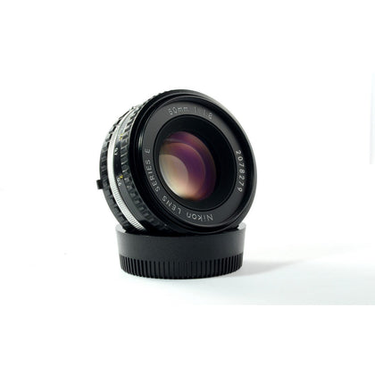 Nikon 50mm f/1.8 series E AIS lens