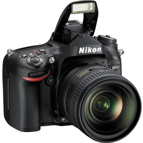 Nikon D610 with 24-85mm VR AF-S Nikkor Lens Kit (24.3 Megapixel, Digital SLR Camera, Black)